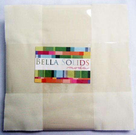 Bella Solids Layer Cake Snow