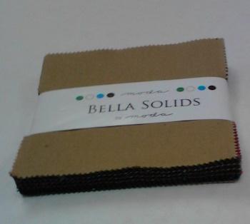 Bella Solids Kansas Charm Pack