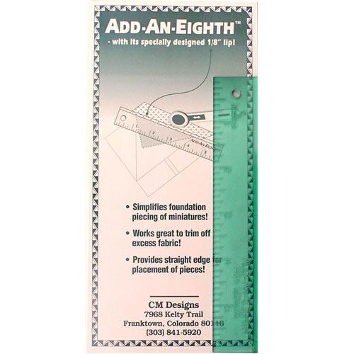 ADD-AN-EIGHTH 6 RULER