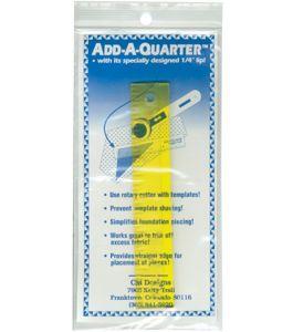 ADD-A-QUARTER 6 RULER
