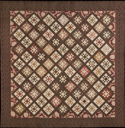 Antique Star Pattern from Bonnie Blue Quilts