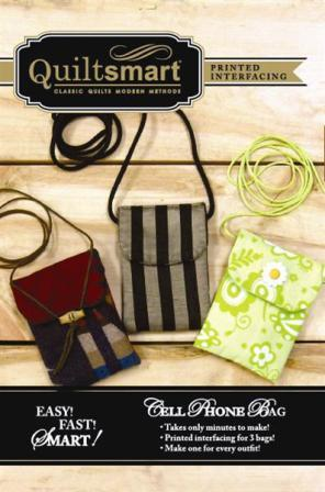 Cell Phone Bag Fun Pack Pattern by Quiltsmart