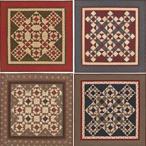 Fab Four from Heartspun Quilts