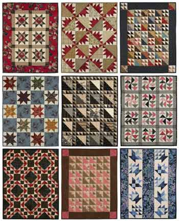Fat Quarter Quilting: And the 4-Inch Block