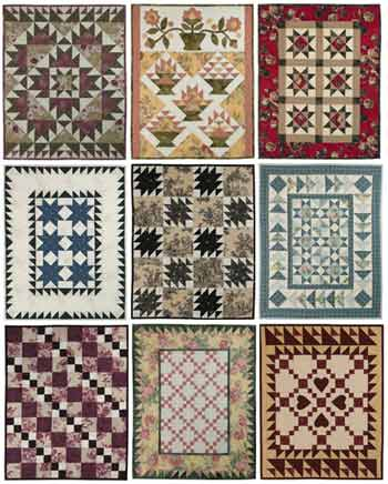 Fat Quarter Quilting: Four Fabric Quilts