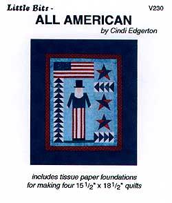 Little Bits All American Pattern