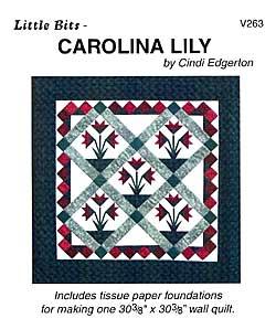 Little Bits Carolina Lily Pattern