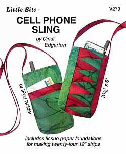 Little Bits cell Phone Sling Pattern