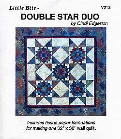 Little Bits Double Star Duo Pattern