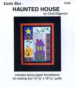Little Bits Haunted House Pattern