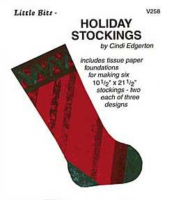 Little Bits Holiday Stockings Pattern