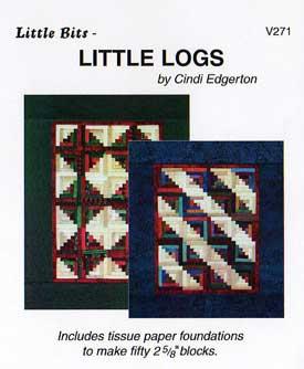 Little Bits Little Logs Pattern