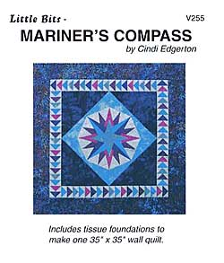 Little Bits Mariner's Compass Pattern