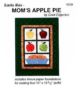 Little Bits Mom's Apple Pie Pattern