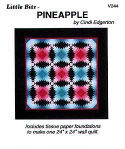 Little Bits Pineapple Pattern