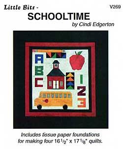 Little Bits School Time Pattern