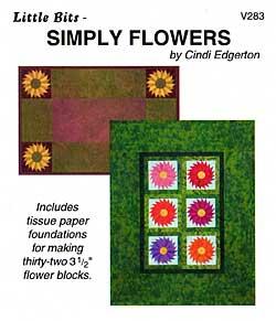 Little Bits Simply Flowers Pattern