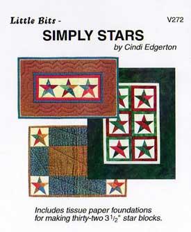Little Bits Simply Stars Pattern
