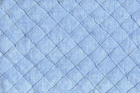 Light Blue Denim Pintuck Fabric