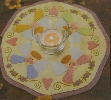 Mary's Angels Candle Mat Kit #161