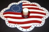 One Nation Under God Candle Mat