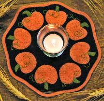 Pumpkin Candle Mat Kit #148