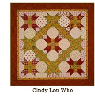 Cindy Lou Who from Schnibbles by Miss Rosie's Quilt Co. (pattern)