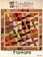 Fanfare from Schnibbles by Miss Rosie's Quilt Co. (pattern)
