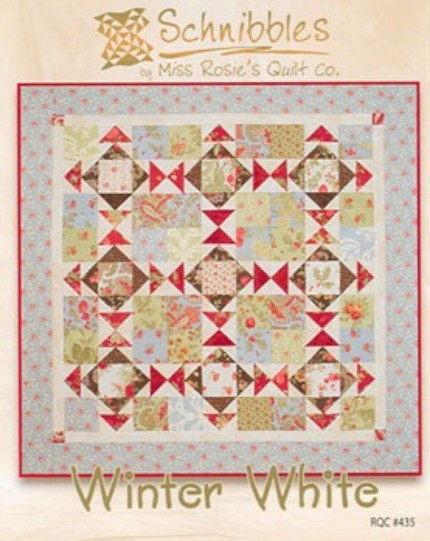 Winter White from Schnibbles by Miss Rosie's Quilt Co. (pattern)