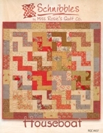 Houseboat from Schnibbles by Miss Rosie's Quilt Co. (pattern)