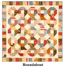 Roundabout - Schnibbles by Miss Rosie's Quilt Co.