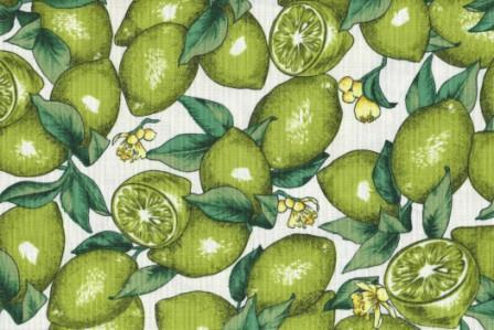 Limes on cream