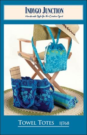 Towel Totes Patterns by Indygo Junction # IJ768