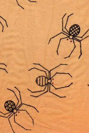 Halloween Sheer Fabric