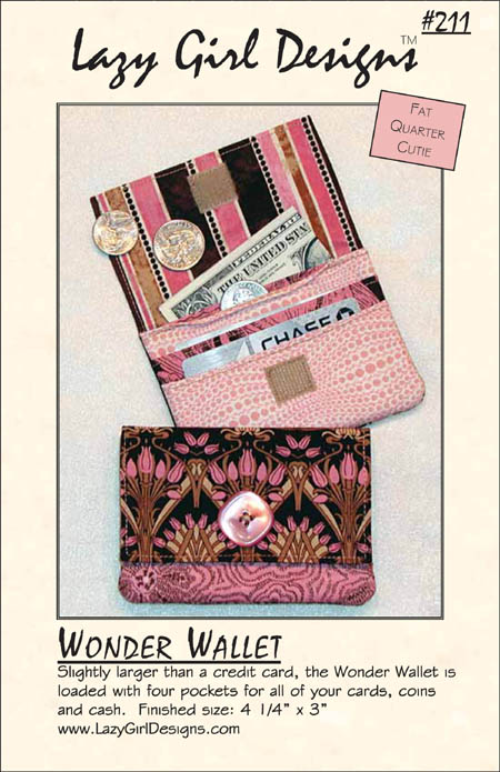 Wonder Wallet by Lazy Girl Designs #211