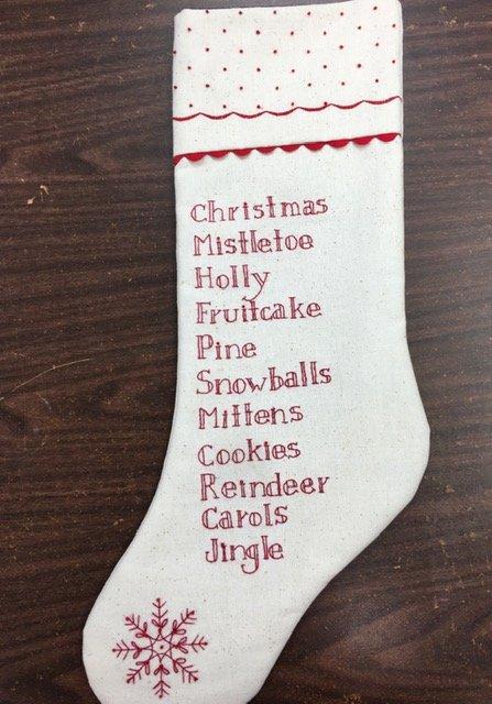 Christmas Memories Stockings
