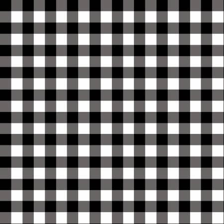 (NEW ARRIVAL) Black/White Checkerboard Yarn Dye