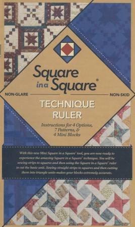 (NEW ARRIVAL) Mini Square in a Square Technique Ruler