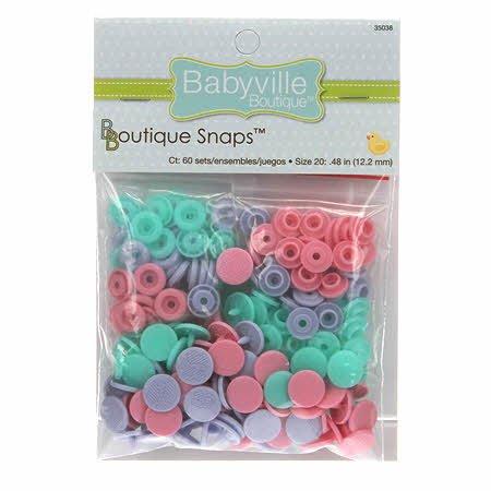 (NEW ARRIVAL) Babyville Boutique Snaps Size 20 Butterflies