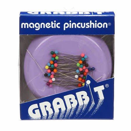 Grabbit Magnetic Pincushion Lavender # GRABITLAV