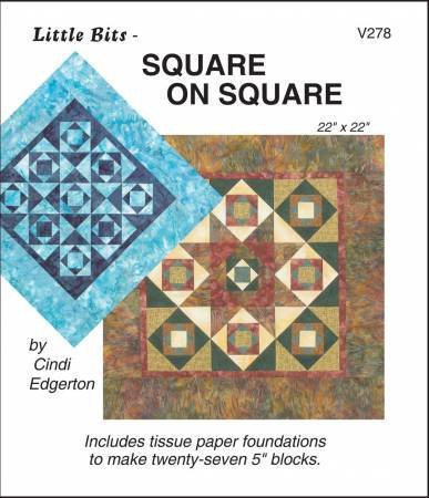 (NEW ARRIVAL) Little Bits Square on Square