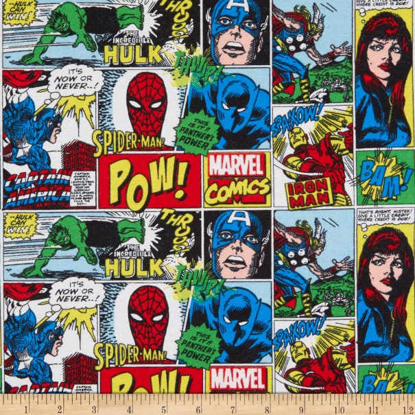 Camelot Marvel Comics Action All Around Flannel