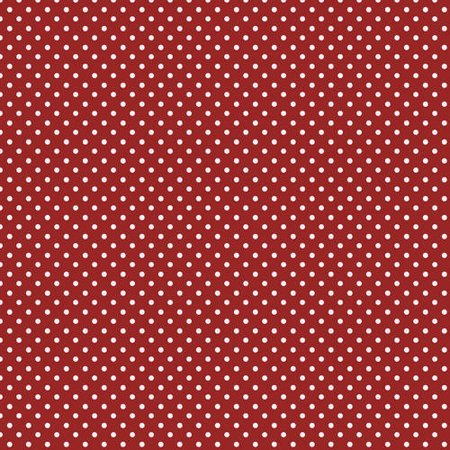 Medium Dotted Red Fabric