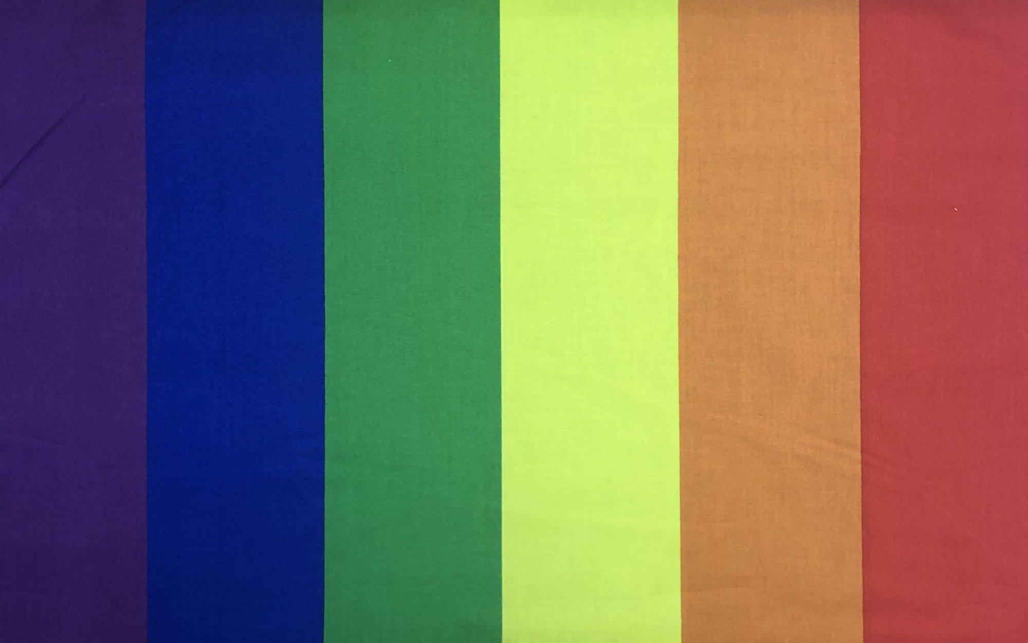 Pride Rainbow Stripe