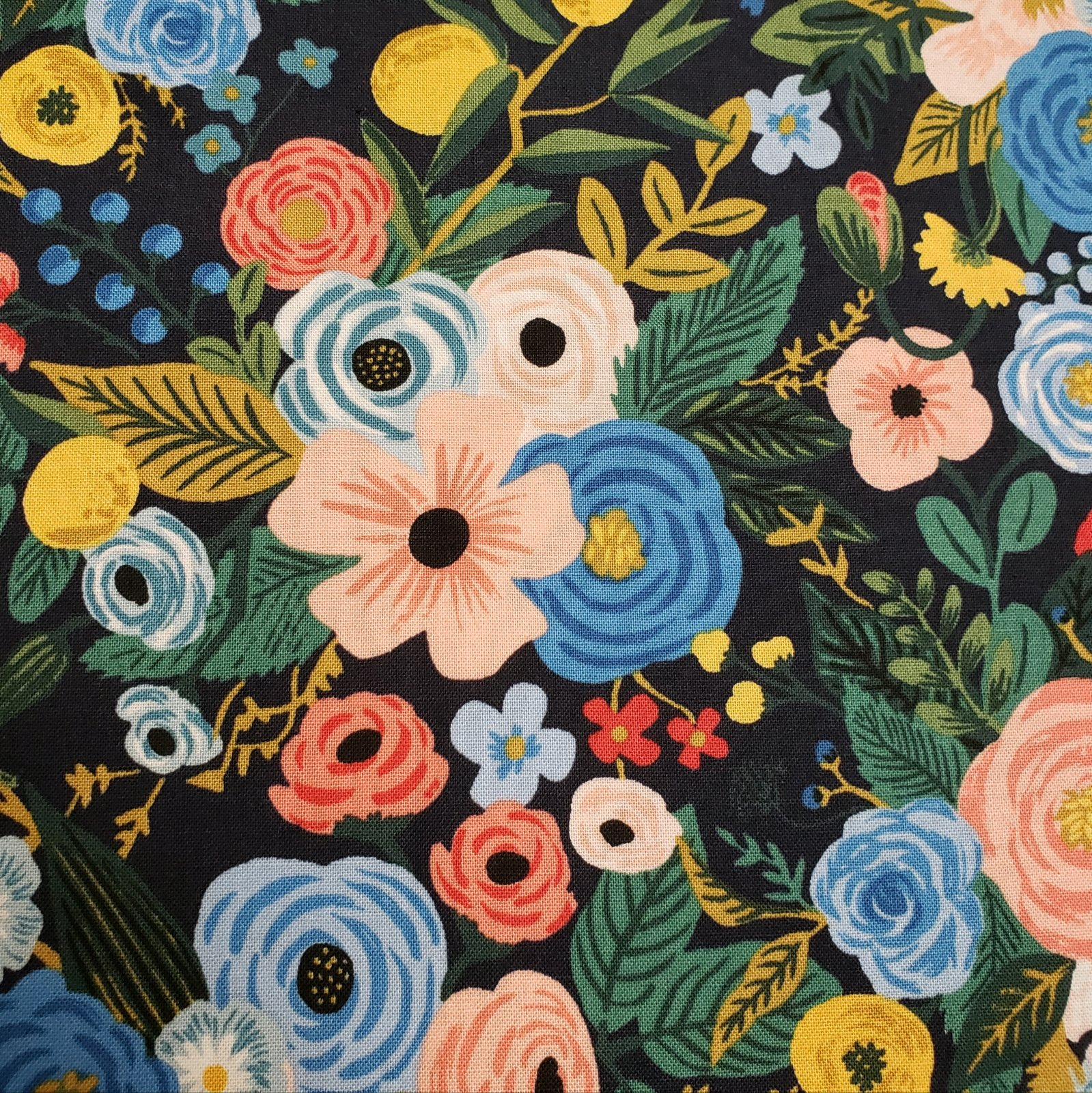 Wildwood Garden Party, Navy, Rifle Paper Company