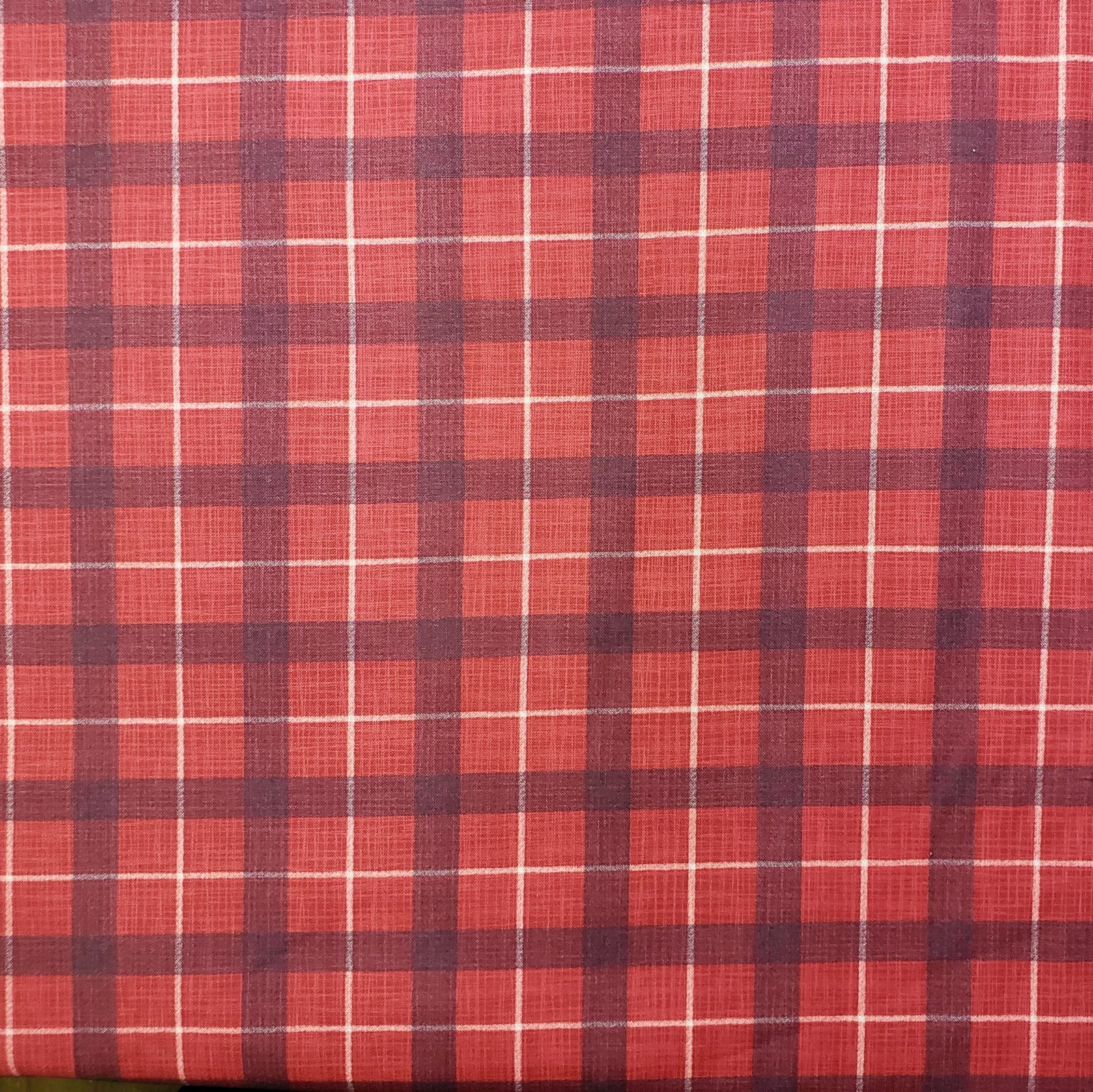 True North Red Plaid