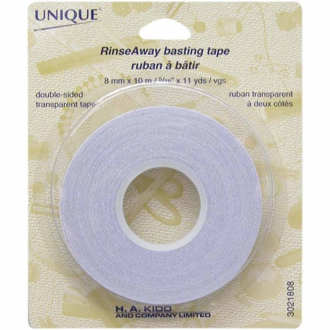 Wonder Tape: Unique Rinse-Away Basting Tape 8mm x 10m (5/16 x 11 yds)