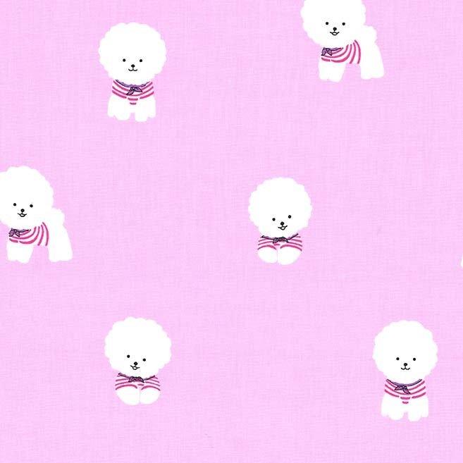 Bichon Frise Dogs Pink