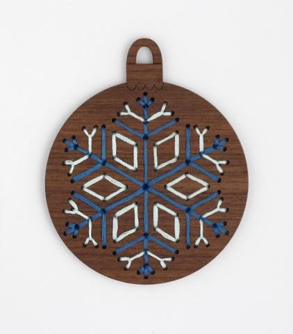 Kiriki D.I.Y. Stitched Ornament Kit - Snowflake