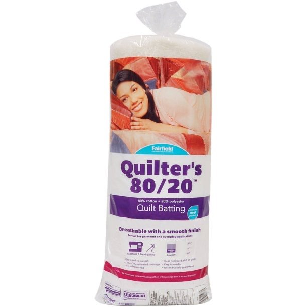 Fairfield Quilter's 80/20 Batting - Queen (229 x 274cm / 90x108)